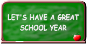 Let's have a great school year!